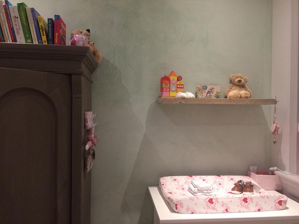 Babykamer Veronees luchtkalk
